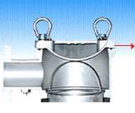 Моноэлементные корпуса мешочных фильтров серии SIDELINE - Схема