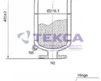 Моноэлементные корпуса мешочных фильтров серии SIDELINE