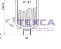 Моноэлементные корпуса мешочных фильтров серии ECOLINE