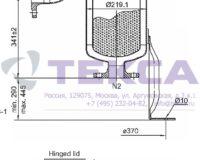 Моноэлементные корпуса мешочных фильтров серии TOPLINE