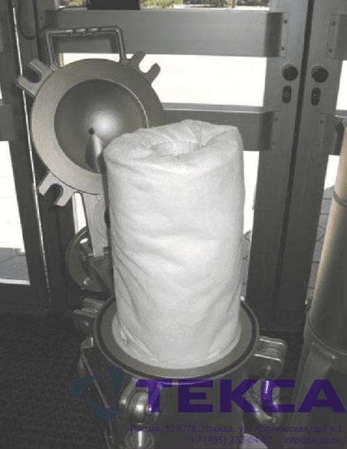 Фильтровальный мешок адсорбирующая вставка