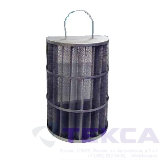 Трубопроводный сетчатый фильтр - стрейнер серии Duplex - модель 52LS