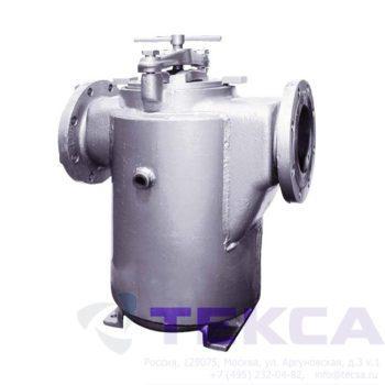 Трубопроводный сетчатый фильтр — стрейнер серии Simplex — модель 72SJ