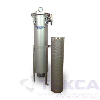 Моноэлементный корпус мешочного фильтра серии DL модель 1P4S