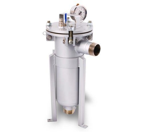 Моноэлементный корпус мешочного фильтра серии DL модель 1P1S
