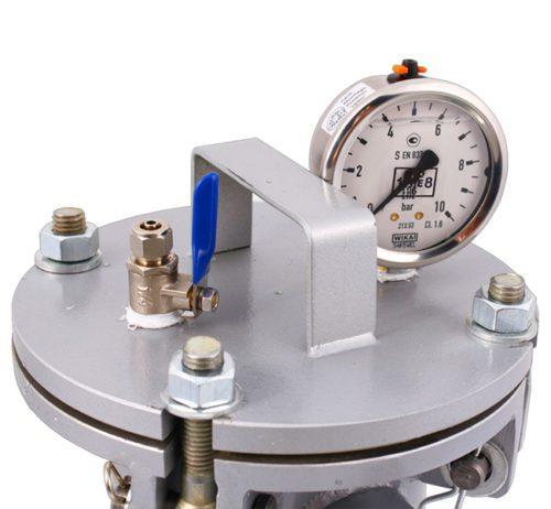 Моноэлементный корпус мешочного фильтра серии DL модель 1P2S