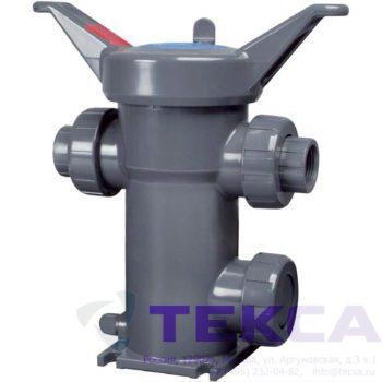 Трубопроводный сетчатый фильтр — стрейнер серии Simplex — модель All — Plastic