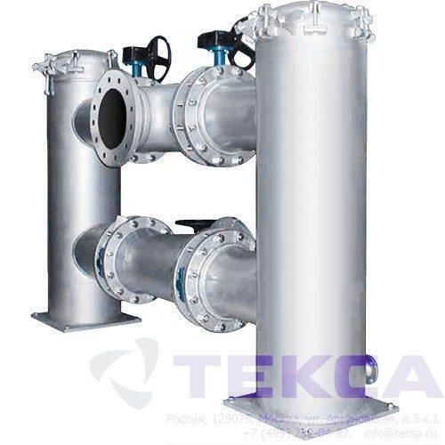 Трубопроводные сетчатые фильтры — стрейнеры DUPLEX 950