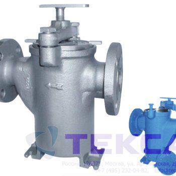 Трубопроводный сетчатый фильтр — стрейнер серии Simplex — модель 72