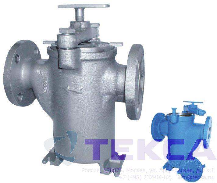 Трубопроводные сетчатые фильтры-стрейнеры серии Simplex - модель 72