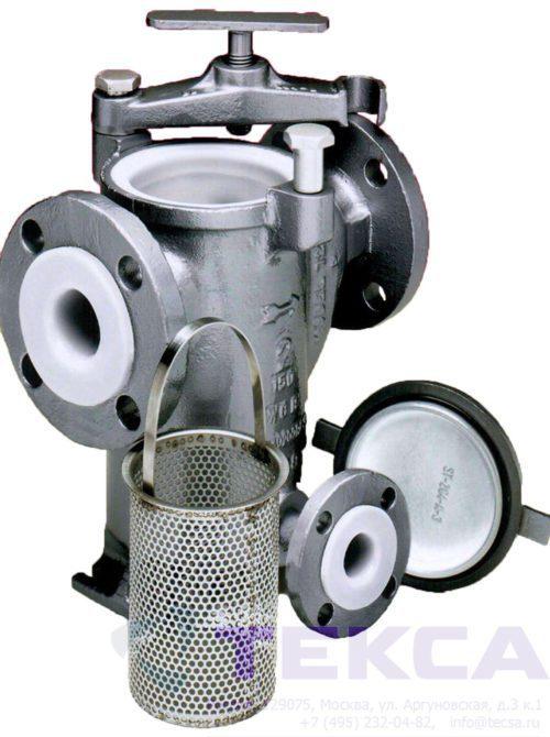 Трубопроводные сетчатые фильтры — стрейнеры SIMPLEX 72L