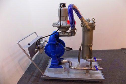 Насосно-фильтровальная установка GBN-16