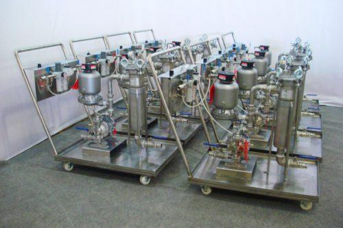 Насосно-фильтровальные установки GBN 2