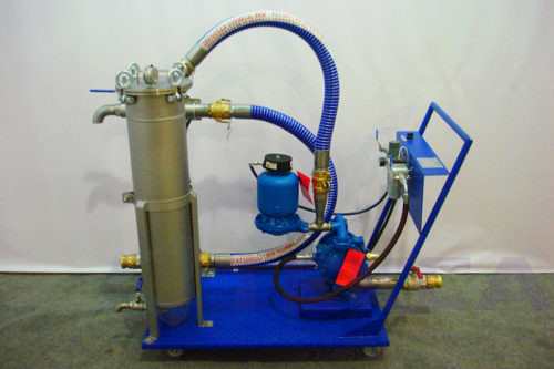 Насосно-фильтровальная установка GBN-4