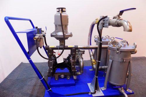 Насосно-фильтровальная установка GBN-8