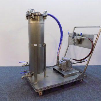 Насосно-фильтровальная установка MF-4
