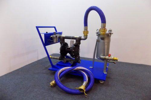 Насосно-фильтровальная установка MF-8