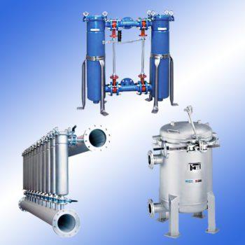Многоэлементные мешочные фильтры