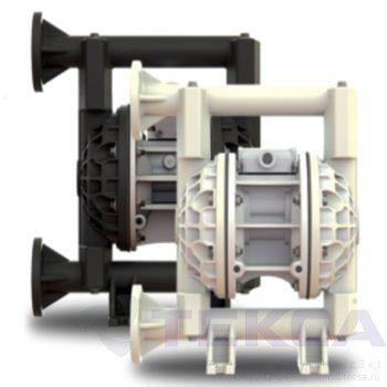 Промышленные насосы Versa-Matic E1 Non-Metallic (стандартное подключение)