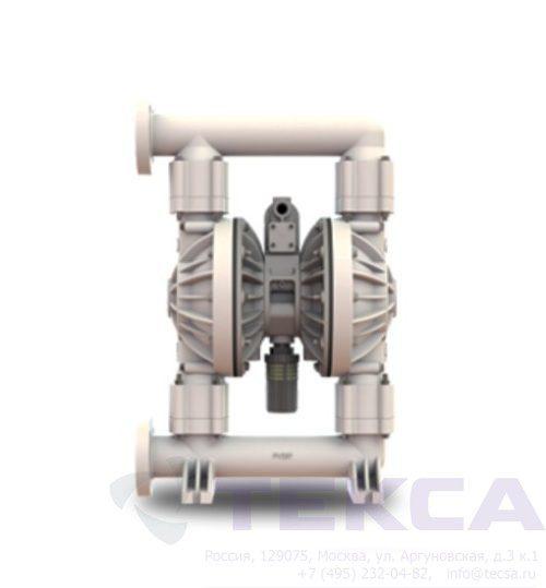 Промышленные насосы Versa-Matic E2 Non-Metallic с болтовым соединением (стандартное подключение)