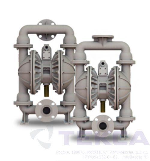 Промышленные насосы Versa-Matic E2 Metallic с болтовым соединением