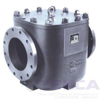 Трубопроводный сетчатый фильтр — стрейнер серии Simplex — модель 510