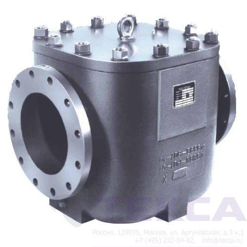 Трубопроводный сетчатый фильтр - стрейнер серии SIMPLEX - модель 510
