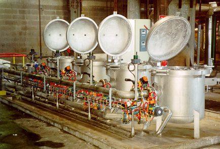 Мешочные фильтры MAXILINE для сахарной промышленности